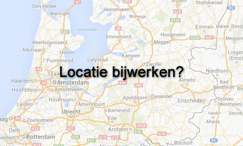 Locatie bijwerken?